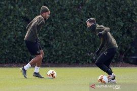Liga Europa - Aubameyang siap tampil sejak awal vs Napoli di Emirates
