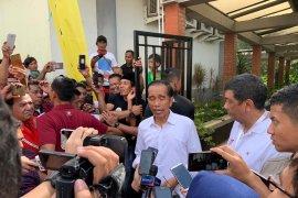 Jokowi bantah ada surat suara di luar negeri yang sudah dihitung