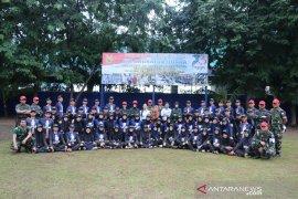60 CPNS Kemenkeu latihan bela negara di Lanud Ngurah Rai