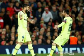 Messi masih absen, Suarez segera kembali aktif di tim Barcelona