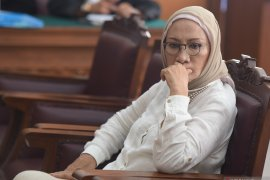 "Ratna Sarumpaet dan dua tahanan KPK ""nyoblos""  di TPS Polda Metro Jaya"