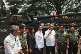 Pindad jajaki ekspor tank Harimau ke negara di Asia
