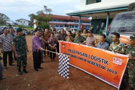 KPU Kapuas Hulu mulai distribusikan logistik Pemilu untuk daerah terpencil