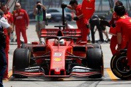 Vettel tunjukkan kecepatan Ferrari di GP China