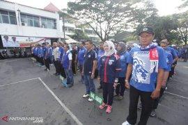 Sambut final Piala Presiden 2019, PNS gunakan atribut Arema