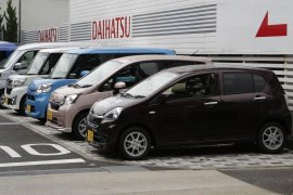 """Daihatsu rencana """"recall"""" 1,92 juta mobil akibat kesalahan pada rem"""