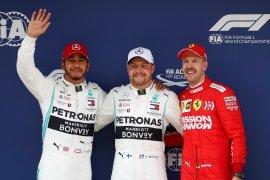 Bottas ungguli Hamilton untuk posisi start terdepan GP China