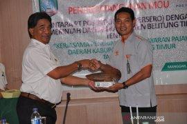 Pemkab Belitung Timur gandeng PT Posindo jalankan Program Pembayaran PBB