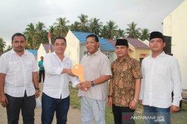 Kementerian PUPR serahkan 50 rumah nelayan di Batahan