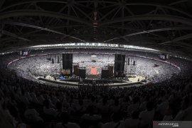 Massa terus masuki GBK saat Konser Putih Bersatu