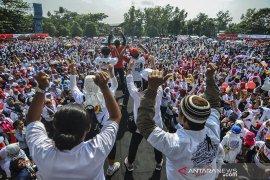 Kampanye terbuka Jokowi-Amin di Tasikmalaya