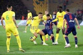 Lyon takluk 1-2 kepada Nantes