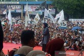 Kolaborasi Rhoma - Nissa Sabyan saat kampanye Prabowo-Sandi