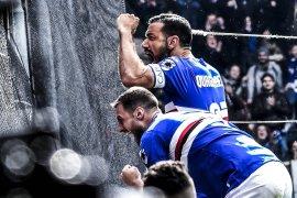 Sampdoria menang 2-0 di Derby della Lanterna