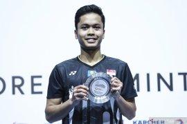 Jojo dan Ginting langsung terhenti di babak pertama Asia Championship