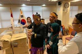 Pemilu Indonesia di Korsel berlangsung dengan semangat kebhinekaan