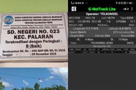 "Telkomsel pastikan sejumlah TPS Palaran tidak ""blank spot""."