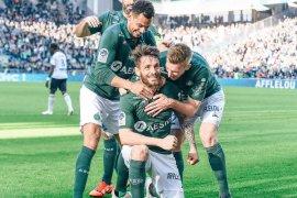 Cukur Bordeaux 3-0, Saint-Etienne kembali ke peringkat keempat