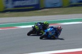 Patahkan dominasi Marquez di Austin, Rins bawa Suzuki juara