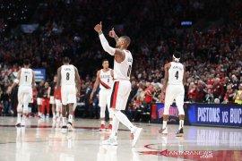 Blazers rebut gim pertama playoff