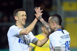 Inter raih tiga poin dari markas Frosinone