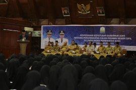 Gubernur Aceh: CPNS harus kreatif dan inovatif