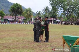 Pelantikan 337 prajurit tantama baru