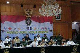 Menko Polhukam Wiranto larang peserta pemilu pawai kemenangan