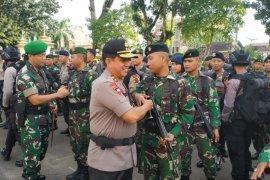 Kapolda Jambi dan Danrem 042 Gapu lepas tim patroli gabungan