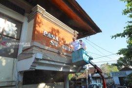 Peremajaan Pasar Seni Sukawati Gianyar-Bali mulai dikerjakan