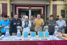 Polda Banten musnahkan barang bukti sabu-sabu