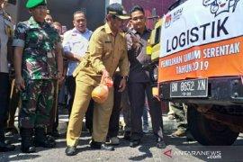 KPU Belitung distribusikan logistik Pemilu 2019