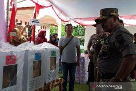 Bupati Belitung cek kesiapan TPS Pemilu 2019