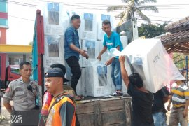 KPU Kota Sukabumi sudah distribusi logistik Pemilu 100 persen
