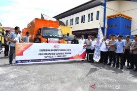 KPU Tapteng distribusikan logistik Pemilu 2019