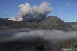 Gunung Bromo masih erupsi