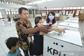 Penyandang tunanetra di Bandung semangat ikuti Pemilu