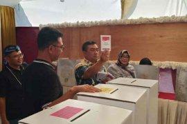 Prabowo-Sandi unggul di TPS Wali Kota Cirebon
