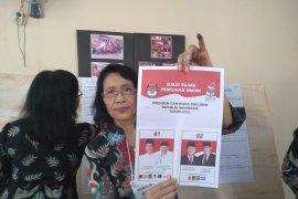 Jokowi-Ma'ruf unggul 50 suara di TPS Zulkifli Hasan