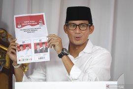 Sandiaga Uno berprasangka baik pertemuan Jokowi-AHY