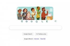 Google Doodle megingatkan warga ke TPS