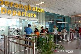 Penumpang angkutan udara di Bandara Depati Amir turun 22,8 persen