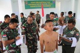 Seleksi penerimaan prajurit TNI AD tidak dipungut biaya