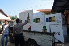 Pengamanan distribusi logistik hasil pemilu