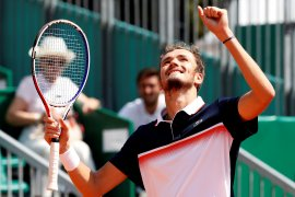 Medvedev jajal final Grand Slam pertama