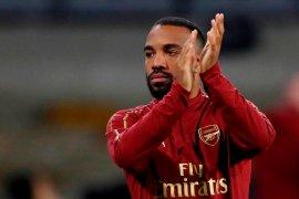 Lacazette antar Arsenal ke semifinal Liga Eropa
