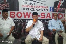 BPN imbau simpatisan pasangan 02 di Sukabumi tidak terprovokasi