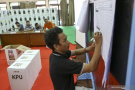 PPK Pangkalbalam gelar rekapitulasi penghitungan surat suara pemilu