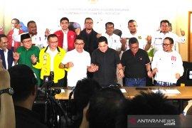 TKN Capres Jokowi-Ma'ruf Amin sampaikan enam pernyataan resmi