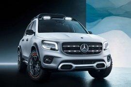 Mercedes-Benz perlihatkan SUV tujuh penumpang terbaru